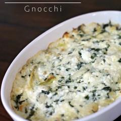 my Spinach and Artichoke Gnocchi