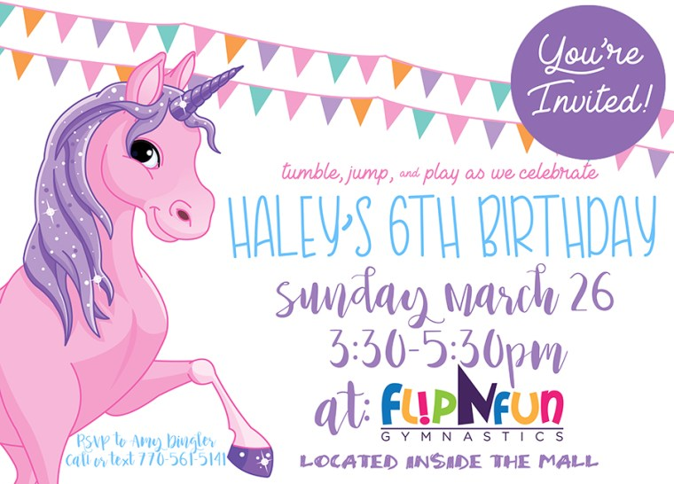 Haleys Birthday Unicorn Invite FINAL IMG