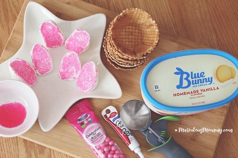 Blue Bunny Bunny Bowls