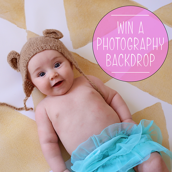 GIVEAWAY: Photo Backdrop from PepperLu (TWO winners)