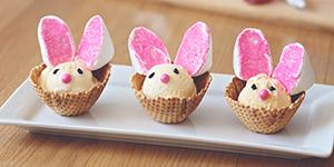 Ice Cream Bunny Bowls