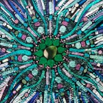 Mandala Mosaic Glass on Glass by Kory Dollar