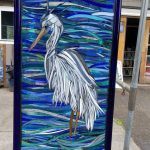 Glass on Glass Mosaic by Kory Dollar of Marvelous Mosaic Fine Art