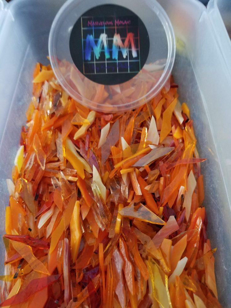 Orange pre-cut blend