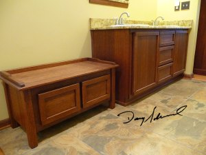 Bathroom Cabinetry by Doug Marvel, Marvelous Woodworking