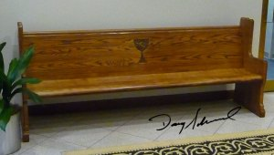 Church Pew by Doug Marvel, Marvelous Woodworking