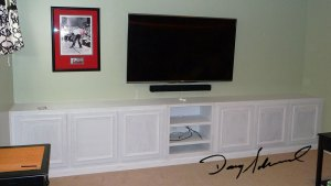 Built-in living room cabinets by Doug Marvel, Marvelous Woodworking