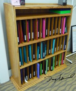 Office Filing Cabinet by Doug Marvel, Marvelous Woodworking