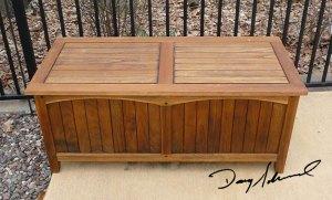 Teak Chest by Doug Marvel, Marvelous Woodworking