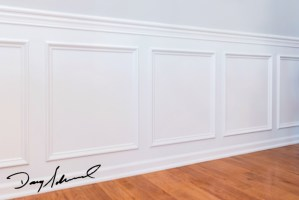White Wainscoting | Custom Woodworking Projects