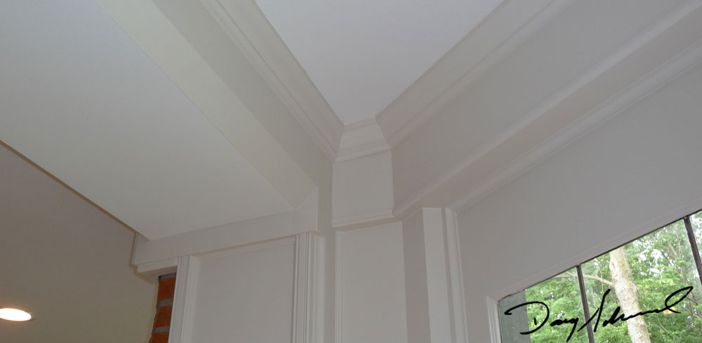 custom woodworking Crown molding by Doug Marvel, Marvelous Woodworking