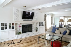 custom fireplace mantel_whitebrick