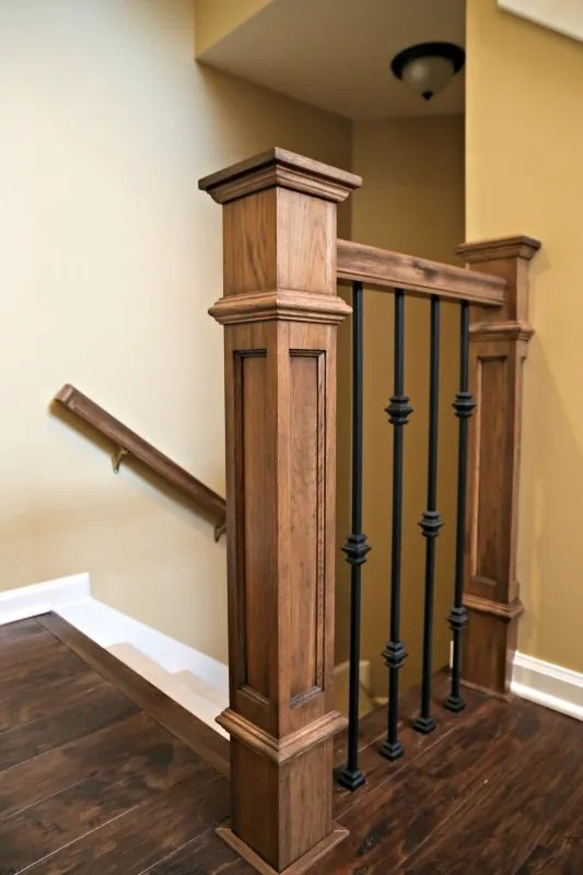 Project Highlight: Updating a Staircase | Marvelous Woodworking