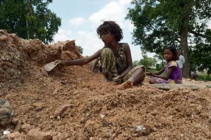 INDIA-LABOUR-MINING