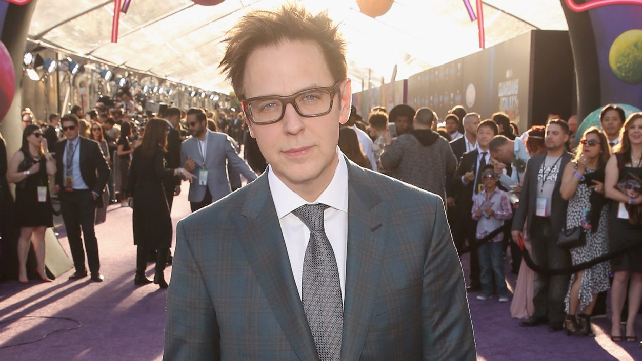 "HOLLYWOOD, CA - APRIL 19:  Writer/director James Gunn at The World Premiere of Marvel Studios' ""Guardians of the Galaxy Vol. 2."" at Dolby Theatre in Hollywood, CA April 19th, 2017  (Photo by Jesse Grant/Getty Images for Disney)"