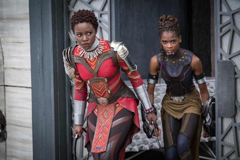 Image result for black panther letitia wright