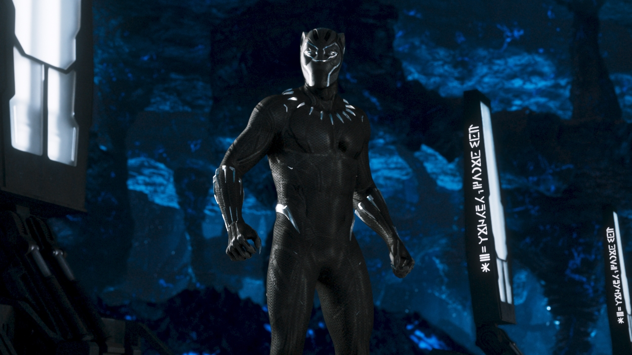 Black Panther standing featured