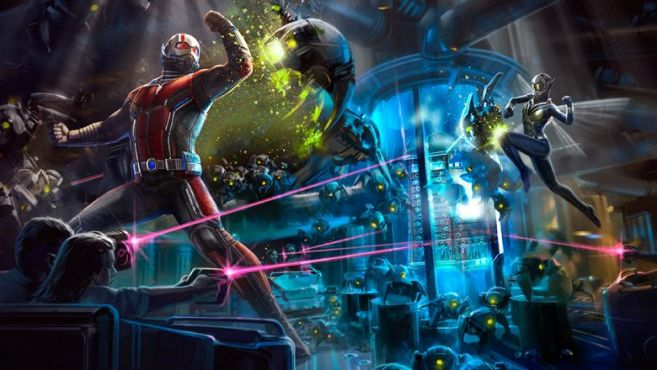 Disney Parks AntMan and the Wasp