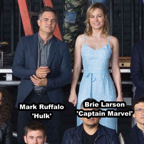 Marvel Studios class photo 15