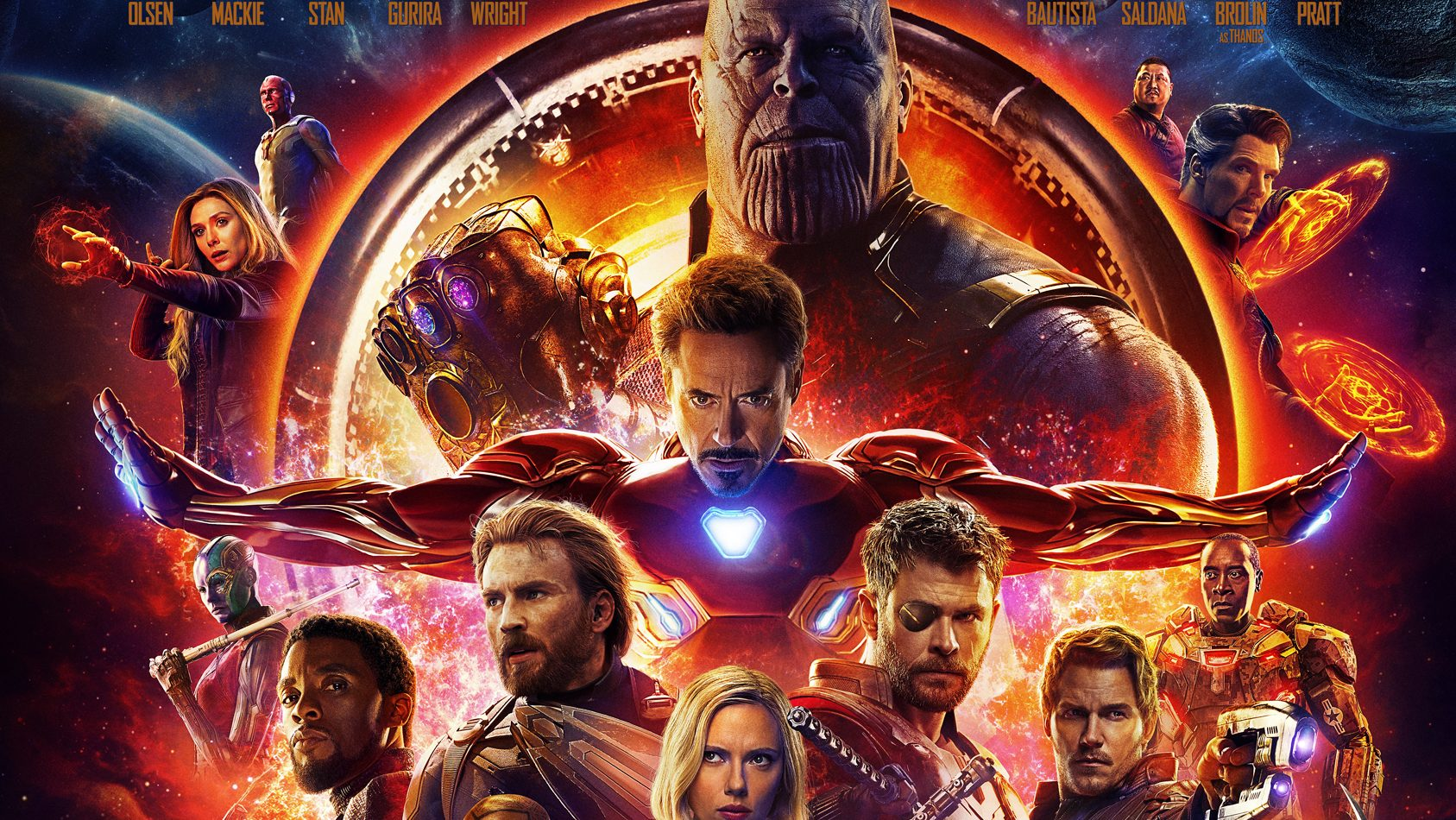 new avengers infinity war poster released with the second trailer