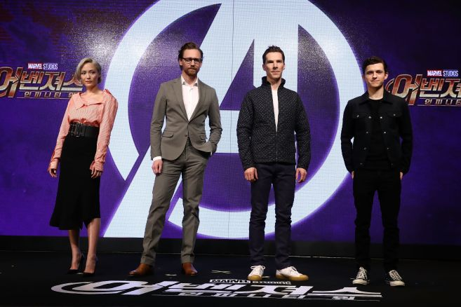 'Avengers Infinity War' Press Conference In Seoul