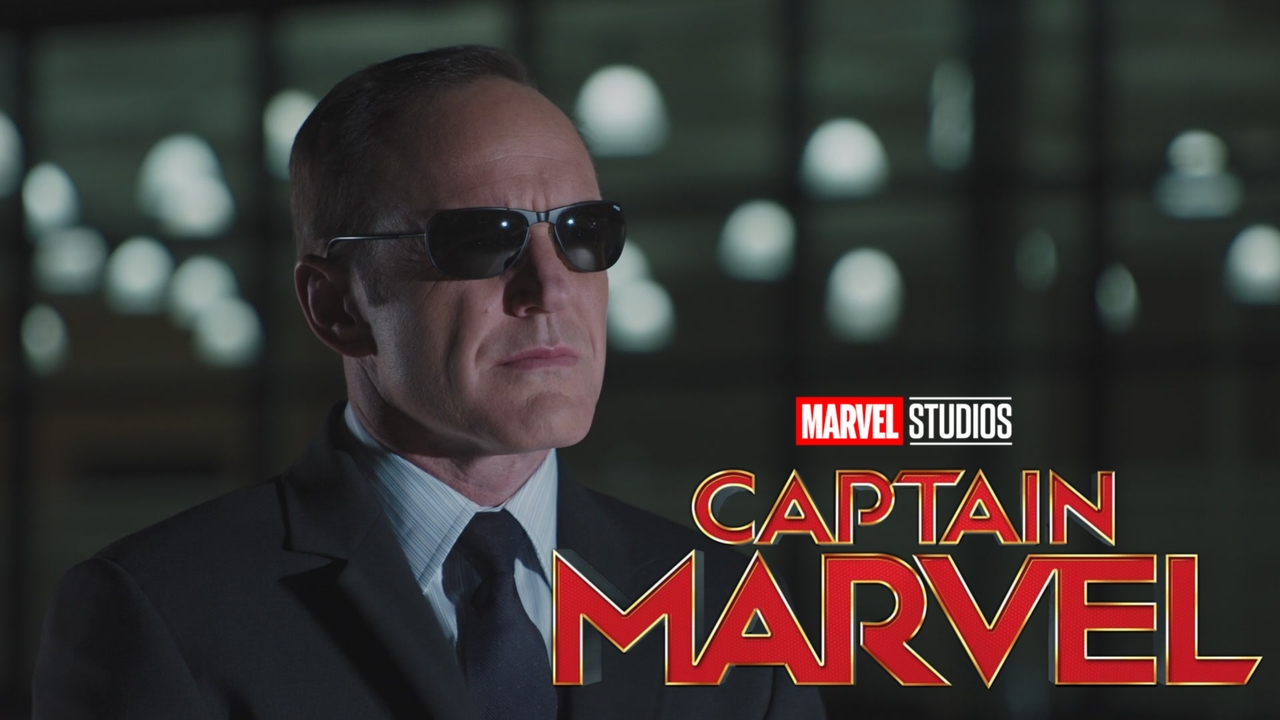 Captain Marvel featured Coulson