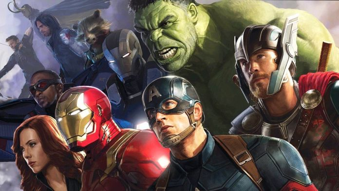 See The Epic Cover For The Road To Avengers Infinity War