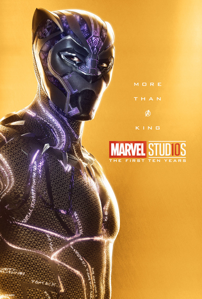 Marvel Studios MCU The First 10 Years Anniversary Play-off Movie Posters