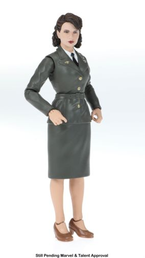 Marvel 80th Anniversary Legends Series Captain America and Peggy Carter 2-Pack (Peggy Carter) oop