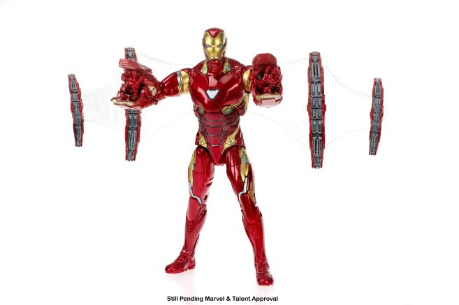 Marvel 80th Anniversary Legends Series Iron Man and Iron Spider 2-Pack (Iron Man) oop