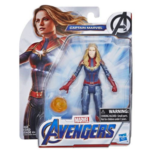 MARVEL AVENGERS ENDGAME CAPTAIN MARVEL 6 INCH FIGURE in pck