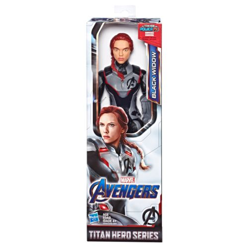 MARVEL AVENGERS ENDGAME TITAN HERO SERIES BLACK WIDOW in pck