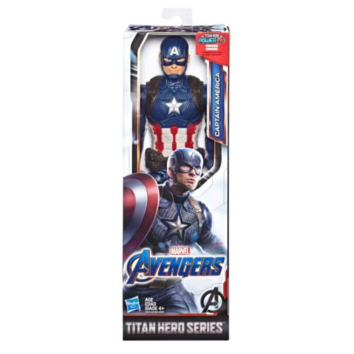 MARVEL AVENGERS ENDGAME TITAN HERO SERIES CAPTAIN AMERICA in pck