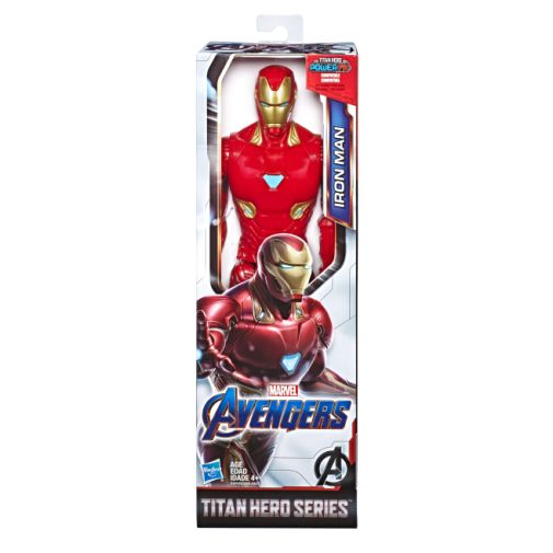 MARVEL AVENGERS ENDGAME TITAN HERO SERIES IRON MAN in pck