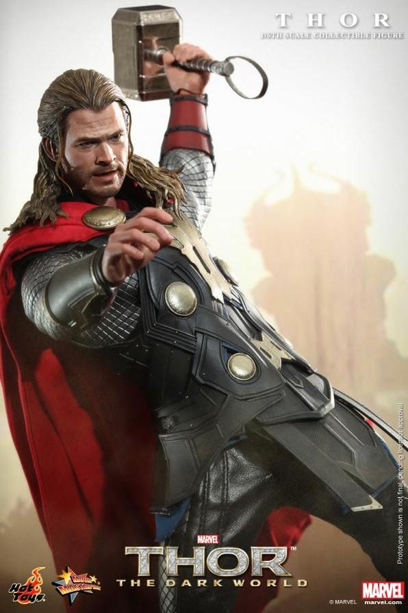 Hot Toys 2014 Thor The Dark World Movie Masterpiece Series Figure MMS 224