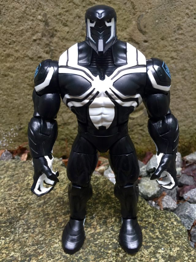 Marvel Legends Space Venom BuildAFigure Review Spider