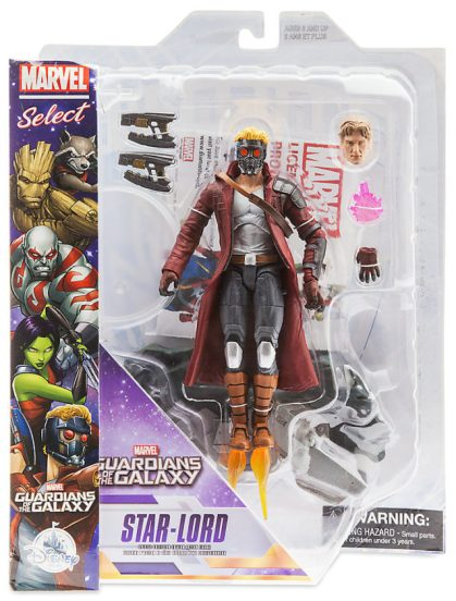 Marvel Select Star-Lord Figure Packaged Disney Store Exclusive