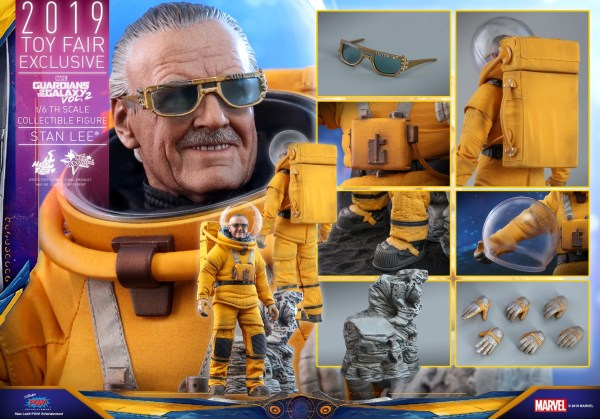 Exclusive Hot Toys Stan Lee Gotg Cameo Figure Order