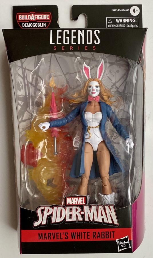 White Rabbit Marvel Legends 2020 Demogoblin Series Figure Packaged