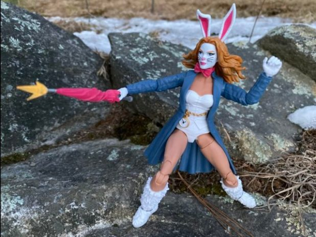"Hasbro Spider-Man Marvel Legends White Rabbit 6"" Figure Review"