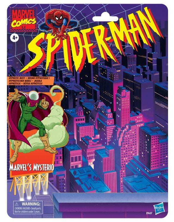Spider-Man Retro Series Marvel Legends Mysterio Cardback