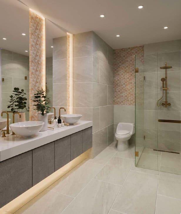 Masters Bathroom Bedroom