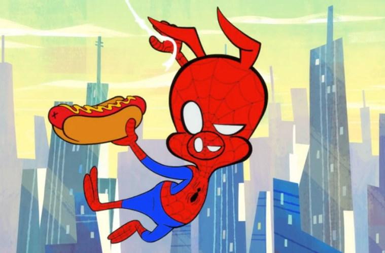 Mira el corto animado de Spider-Man.