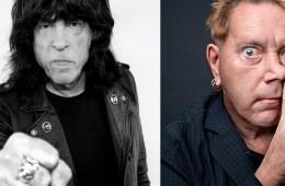 Marky Ramone y Johnny Rotten se pelean.