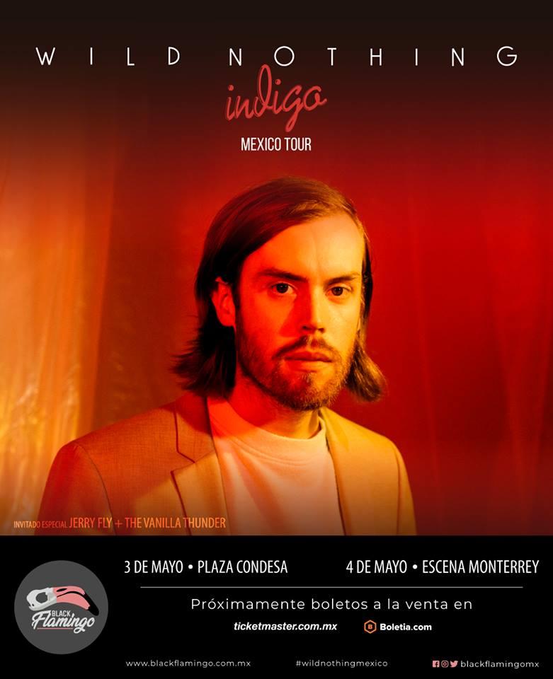 Wild Nothing vendrá a dar un par de shows en México.