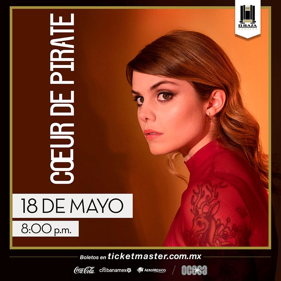 Coeur de pirate en El Plaza.
