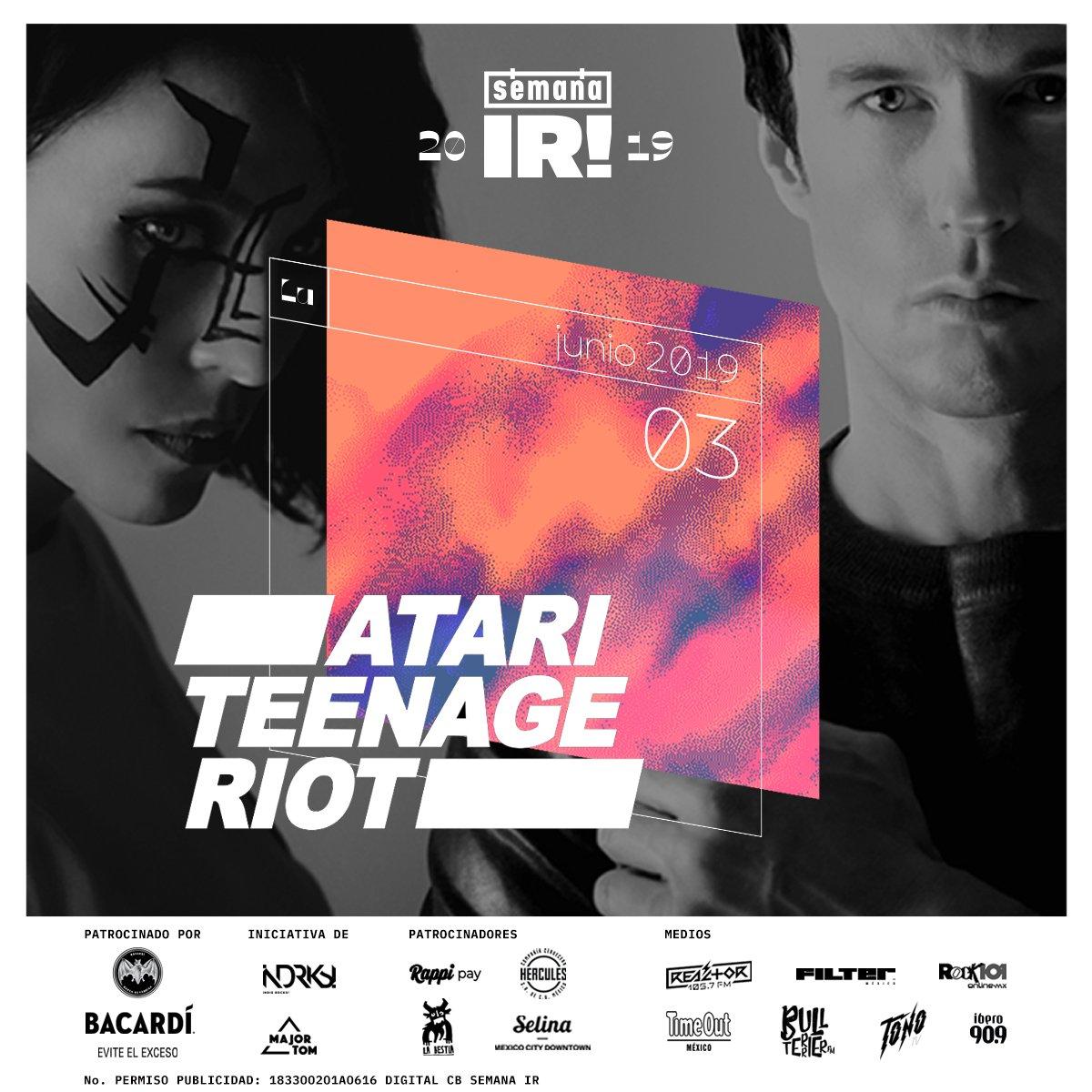 Atari Teenage Riot en #SemanaIR
