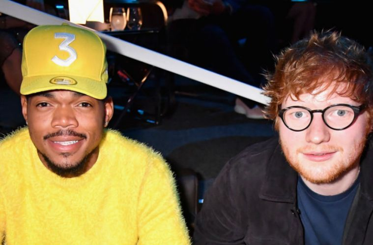 "Ed Sheeran Cross Me Chance the Rapper ""No. 6 Collaborations Project"" 12 julio"