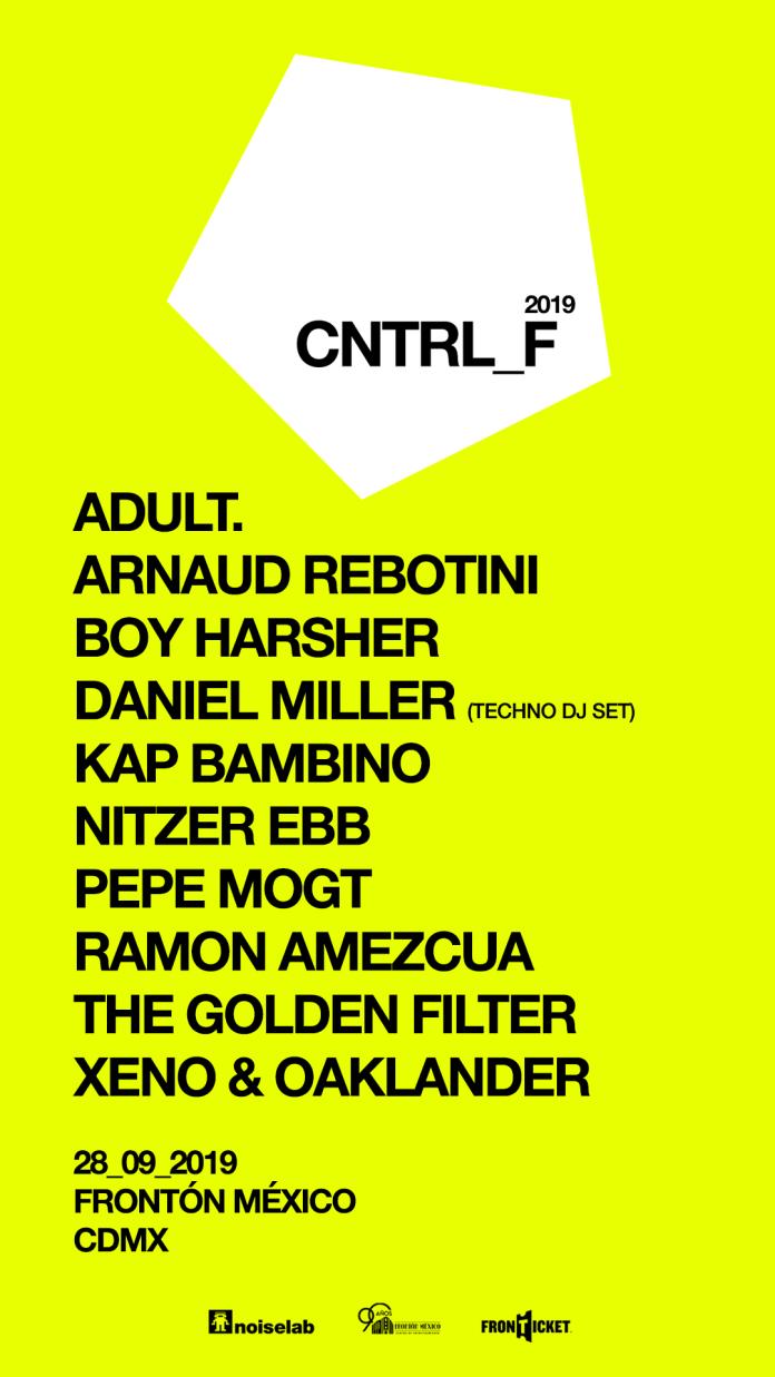 cntrlfest 2019 Fronton Mexico