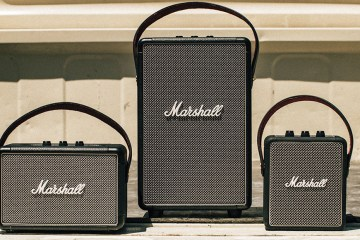 Marshall bocinas portátiles.